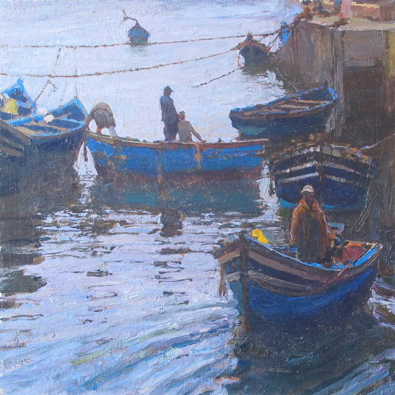 Return to Harbor by  Daud Akhriev - Masterpiece Online