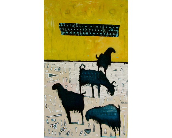 Goats by  Christopher Griffin - Masterpiece Online