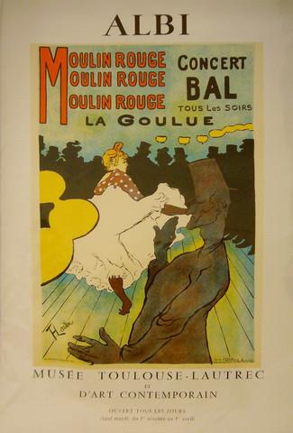 Moulin Rouge (Musee T... by  Henri de Toulouse Lautrec - Masterpiece Online