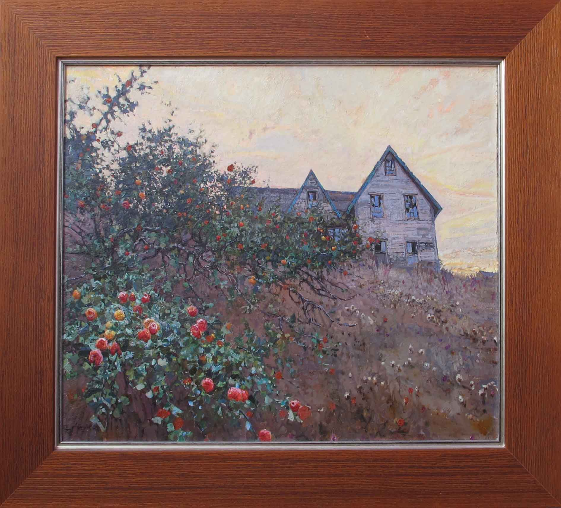 October Apples by  Daud Akhriev - Masterpiece Online