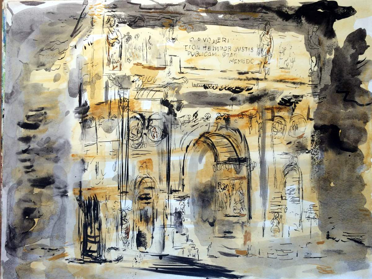 Arch de Triumphe by  Francis Chapin - Masterpiece Online