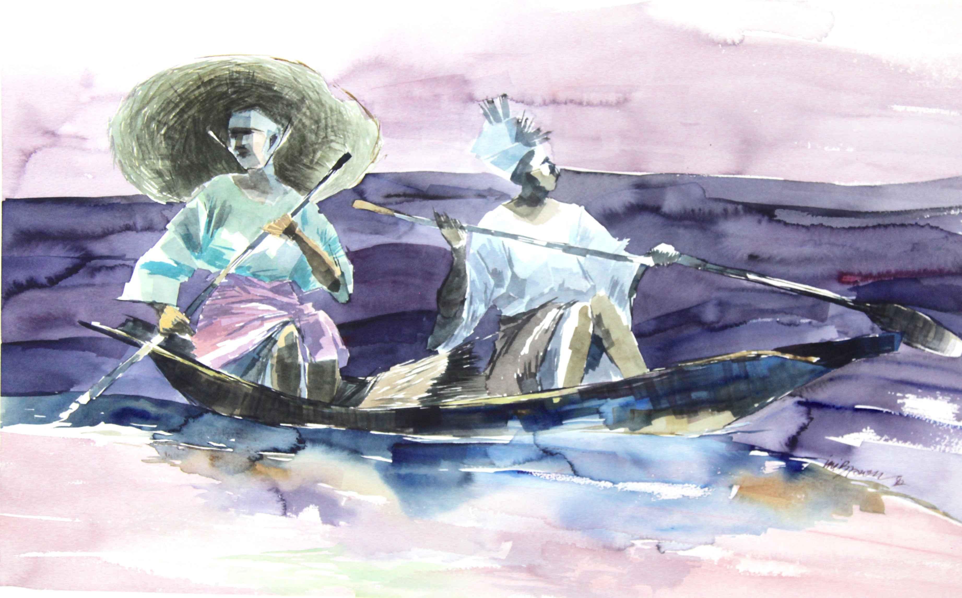 Purple Blues by Mr Ini Brown - Masterpiece Online