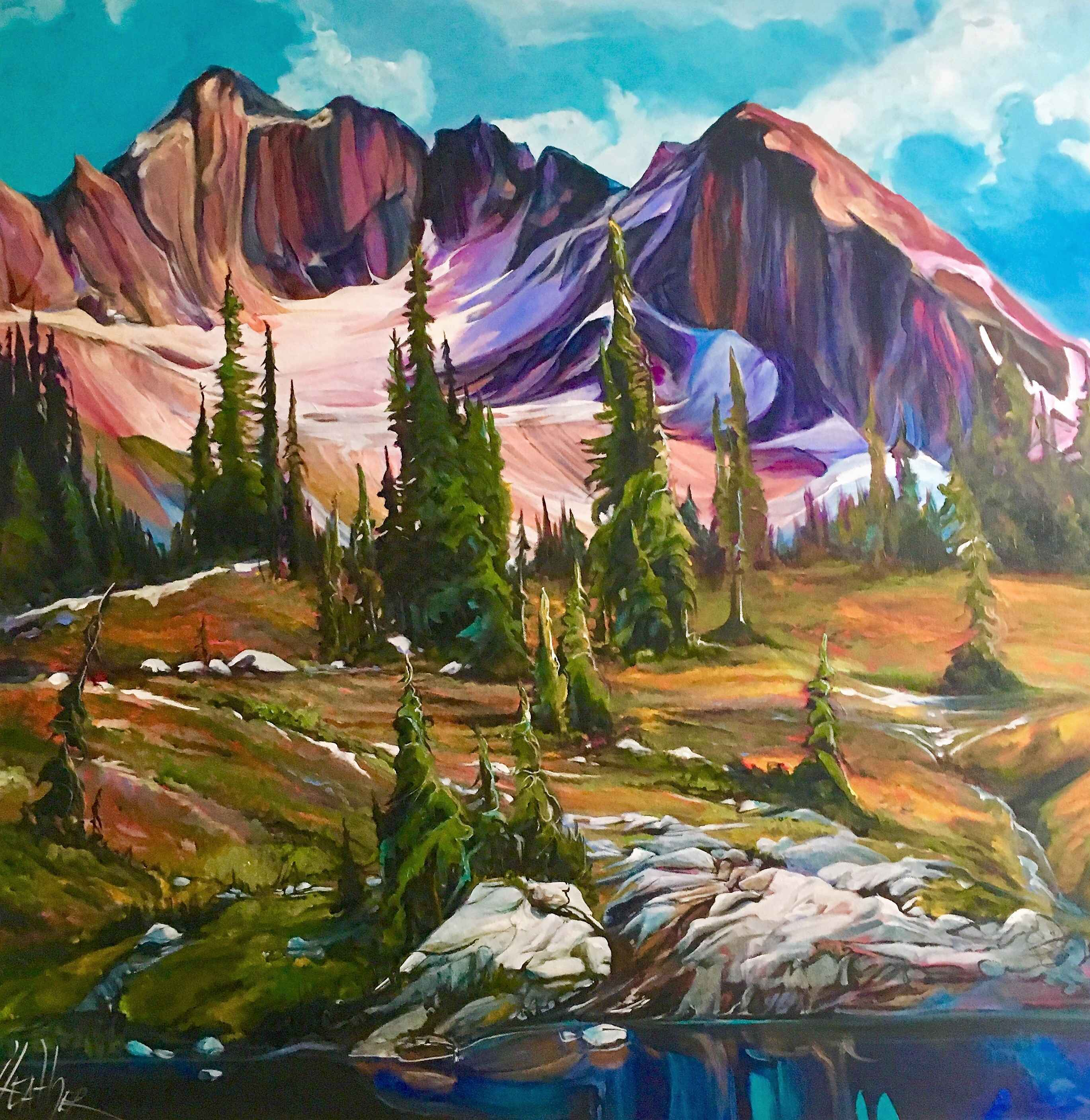 Selkirk Meadow by  Heather Pant - Masterpiece Online