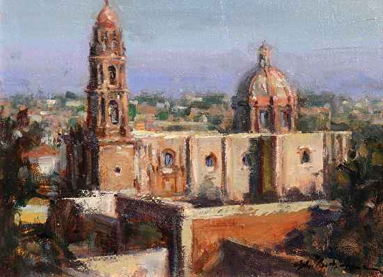 View From the Top by  John Austin Hanna - Masterpiece Online