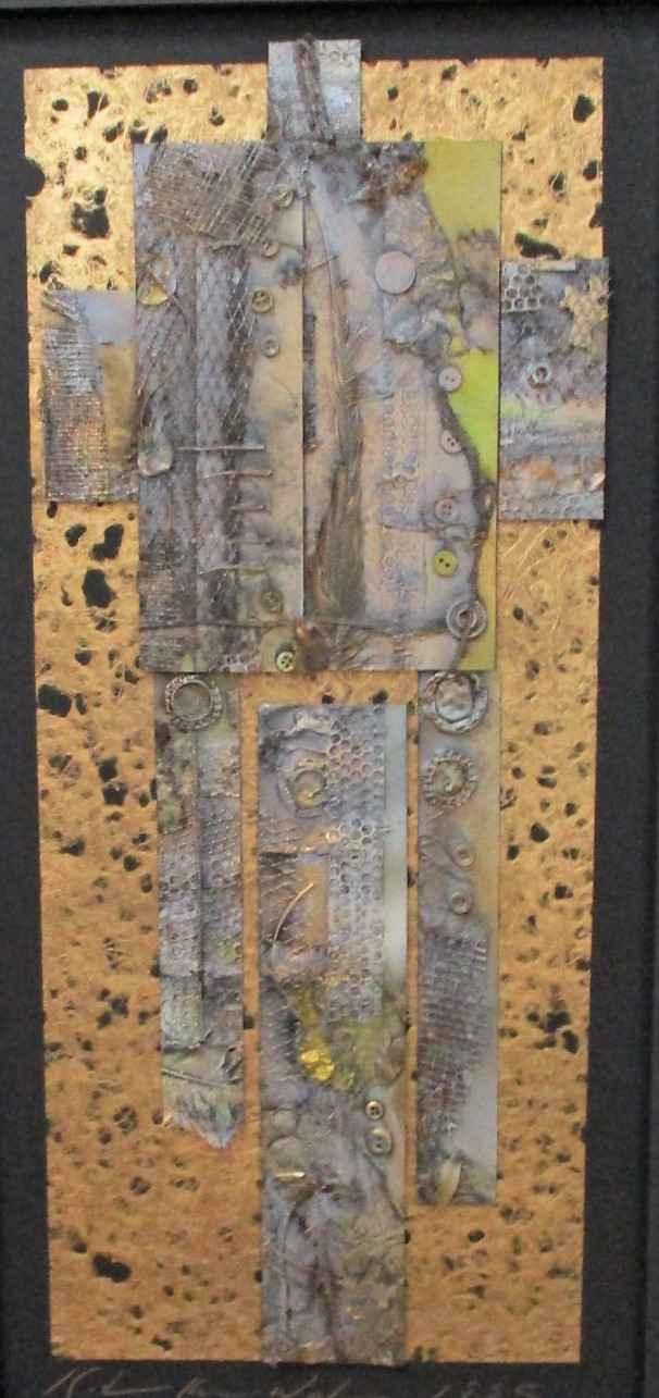 Untitled (Triptych Ab... by  Katherine Kramer Waters - Masterpiece Online