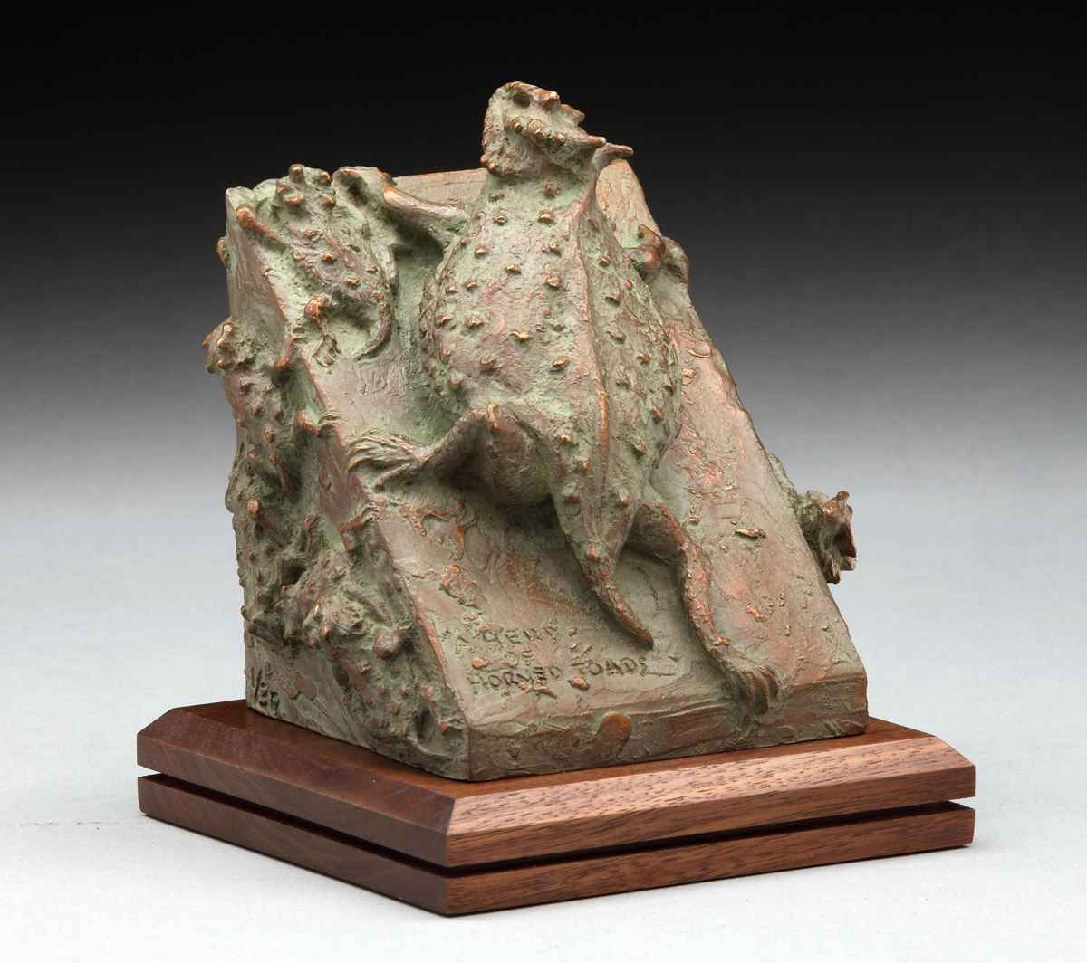 A Herd of Horned Toads by  Garland Weeks - Masterpiece Online