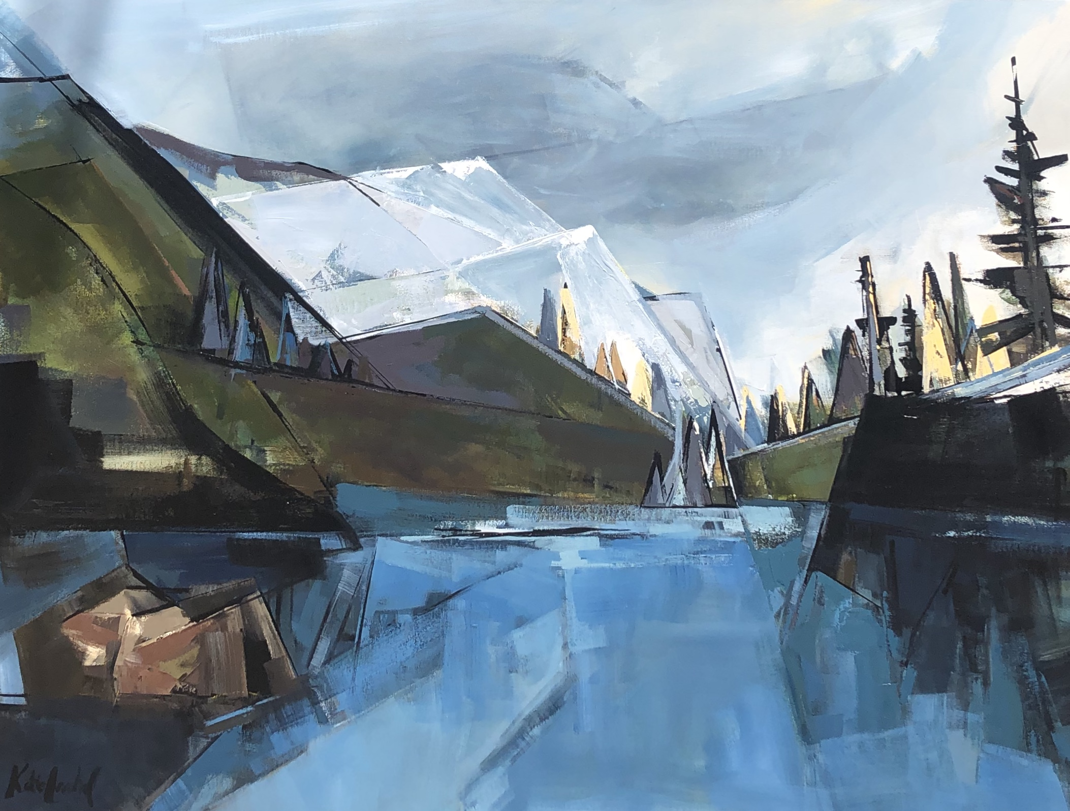 Lillian Lake by  Katie Leahul - Masterpiece Online