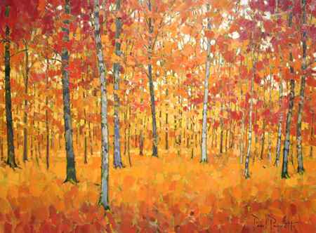 Through the Trees by  Paul Paquette - Masterpiece Online