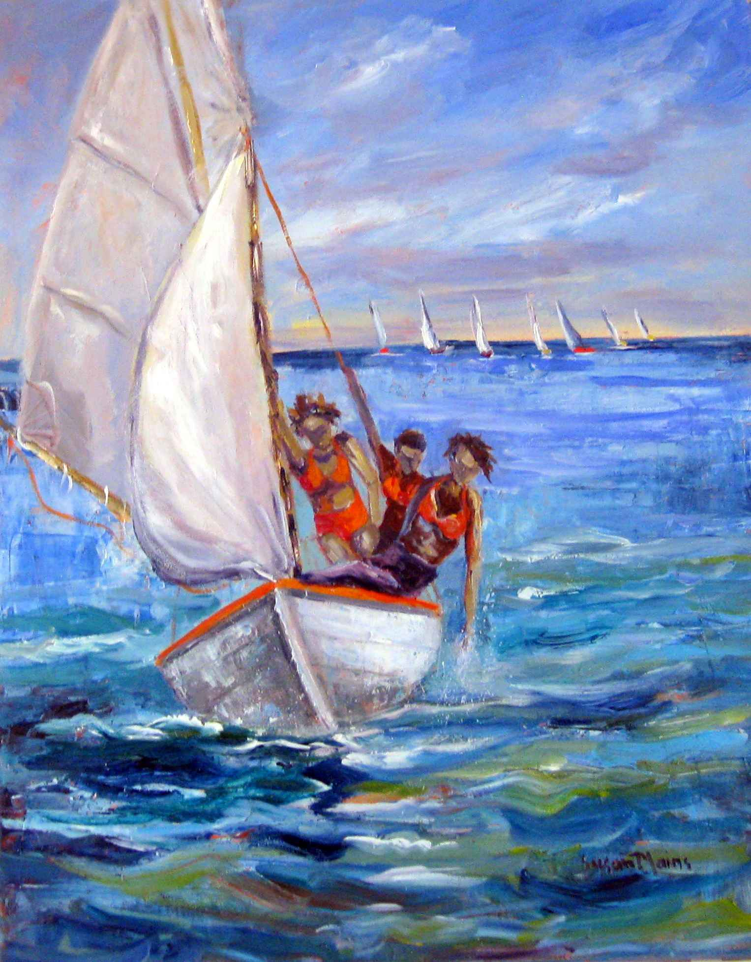 Girl's Crew by Mrs. Susan Mains - Masterpiece Online