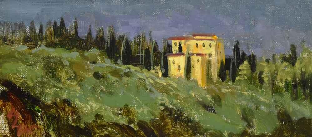 Yellow Villa  by  Steven Lee Adams