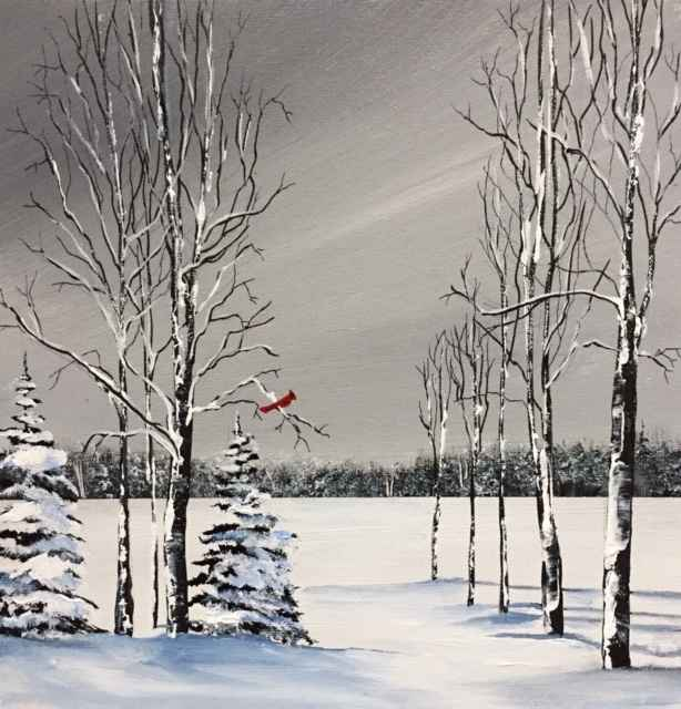 Winter Trees Class by    - Masterpiece Online