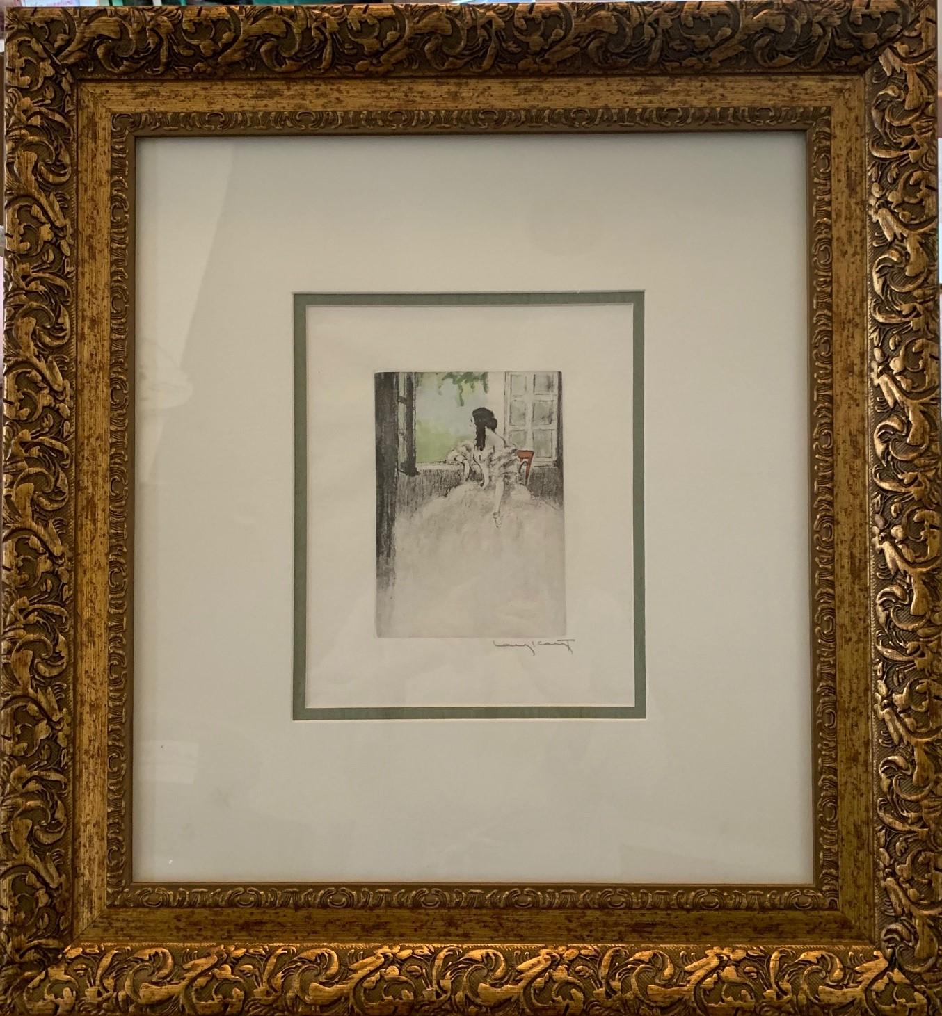 Faraway Gaze by  Louis Icart - Masterpiece Online