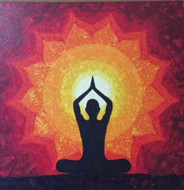 Yoga and Sun by  Unknown Artist - Masterpiece Online