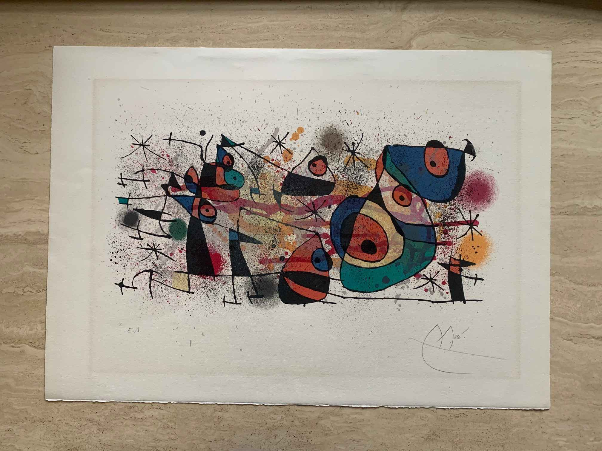 """""""Ceramique"""" from 'Cer... by  Joan Miro - Masterpiece Online"""