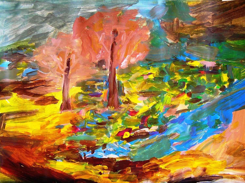 Automne jaune by Mme Ioana JITARU - Masterpiece Online