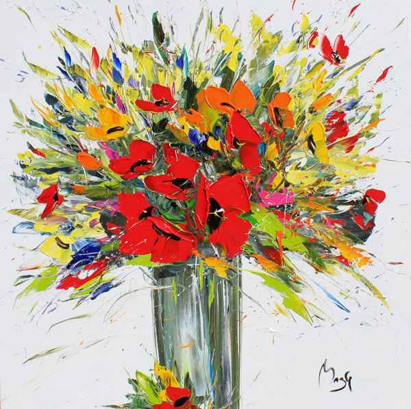 Splendid Bouquet by  Louis  Magre - Masterpiece Online