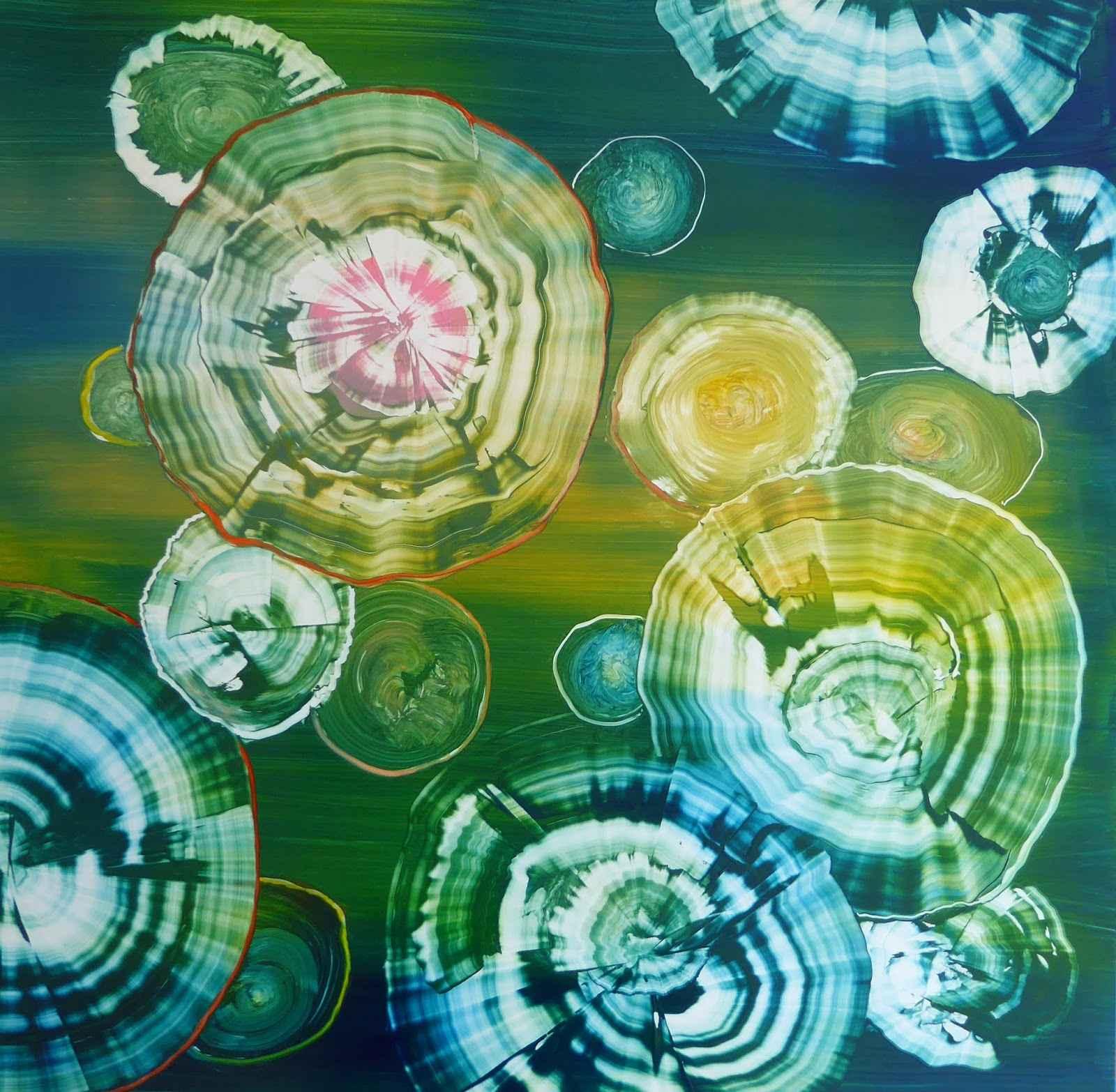 Floating by  Katharine Draper - Masterpiece Online