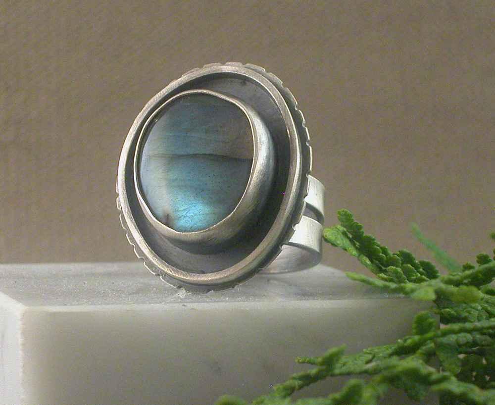 Labradorite Ring by  Michelle Zjala Winter - Masterpiece Online
