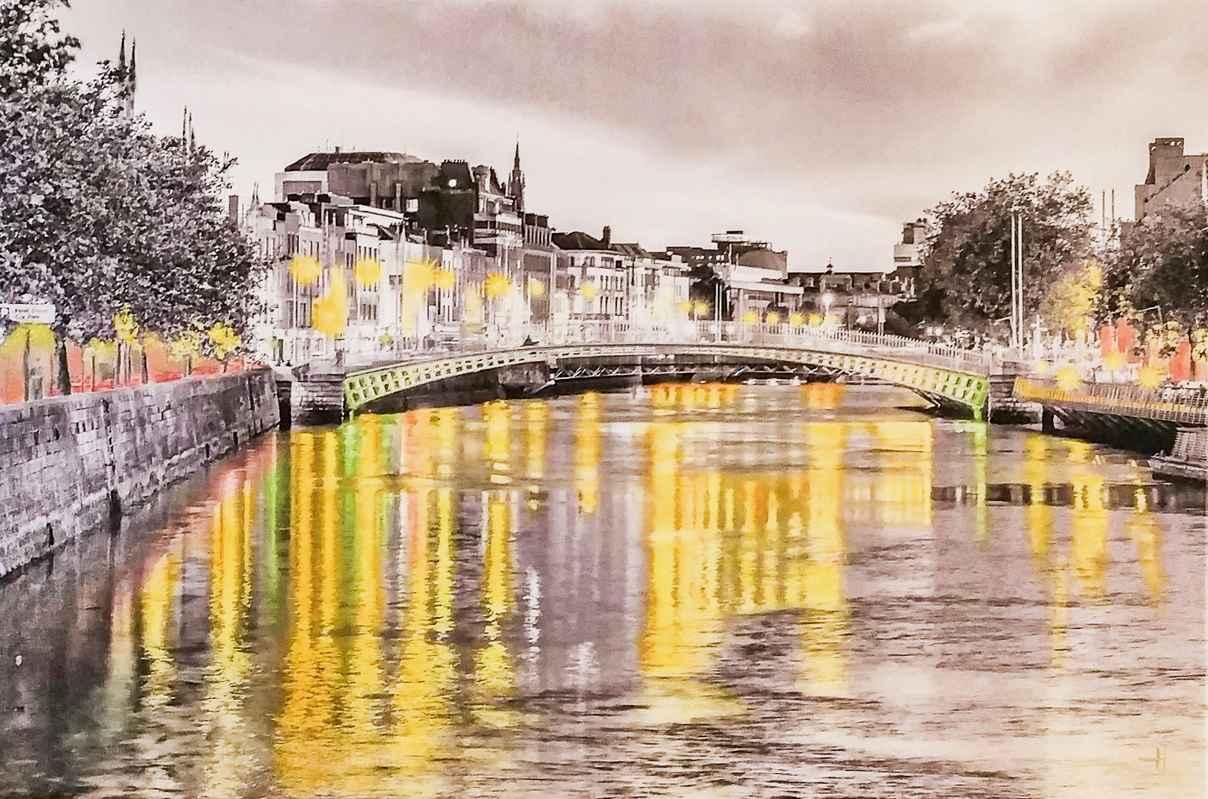 Ha' Penny Bridge by  Projet PHOTOPAINT - Masterpiece Online
