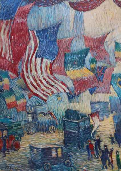 Flags by  T.E. Butler - Masterpiece Online