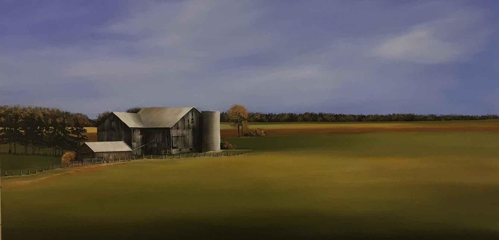 Beaver Valley Farm by  Janet Liesemer - Masterpiece Online