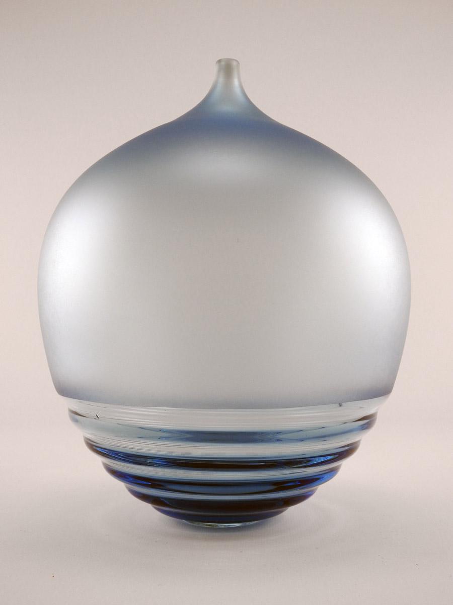 Ripple Bottle/Blue by  David Royce - Masterpiece Online