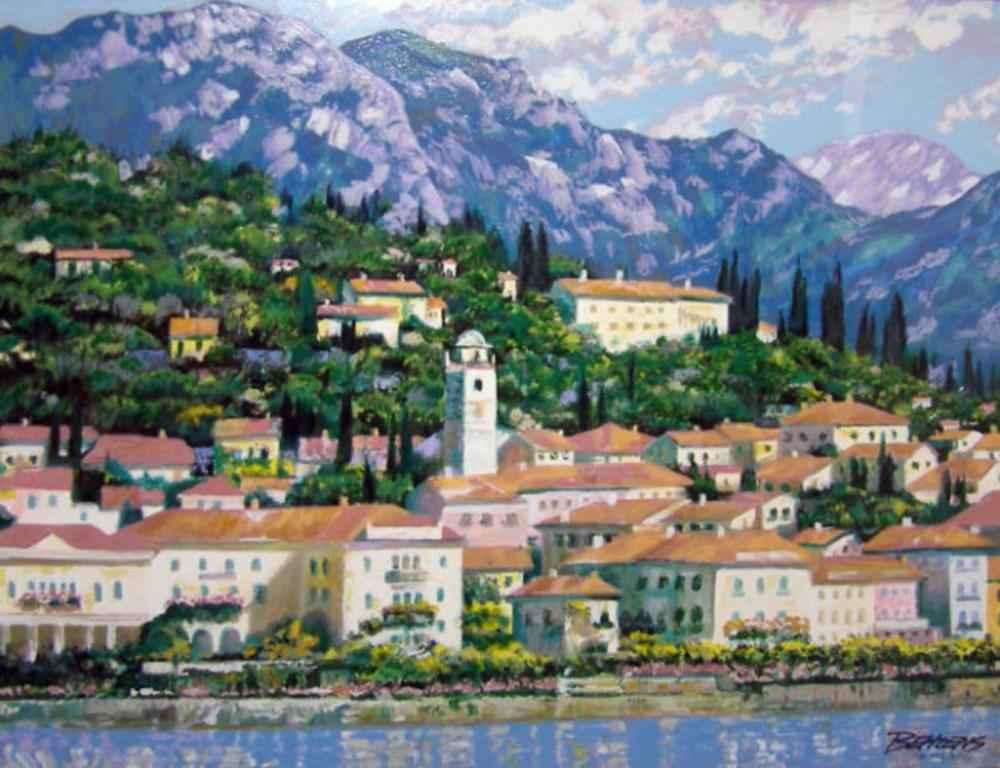 Bellagio Hillside by  Howard Behrens - Masterpiece Online