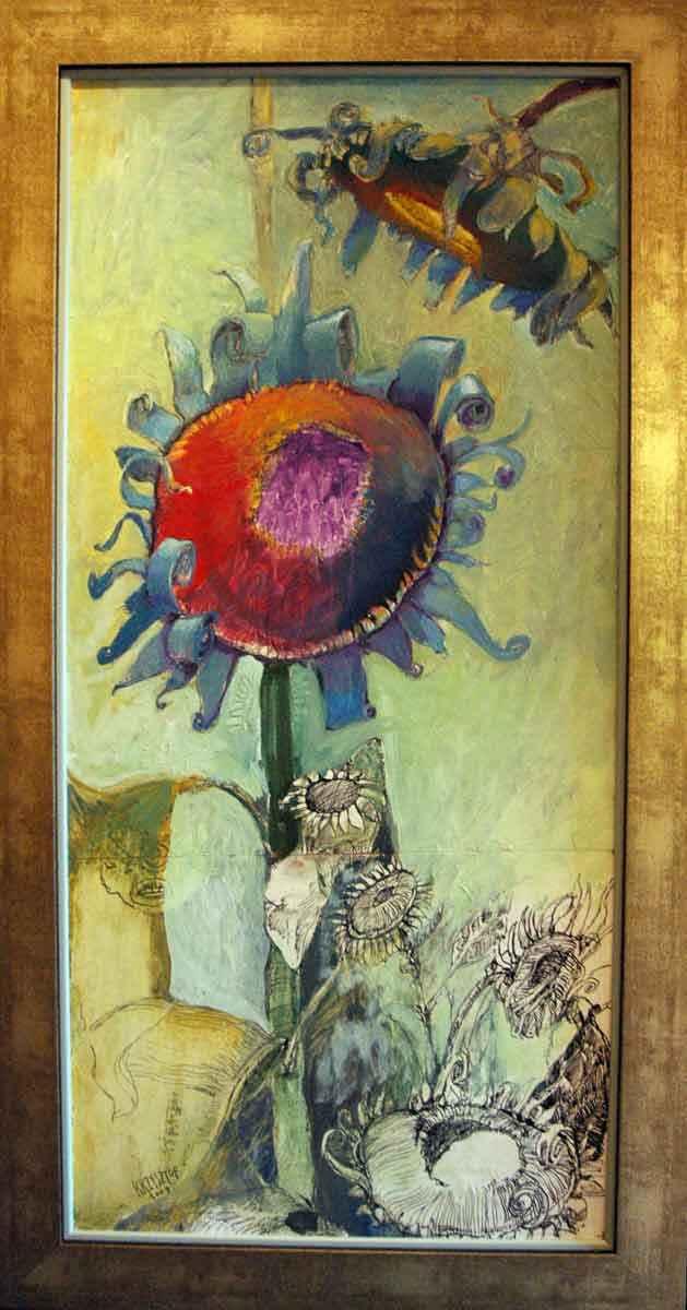 Sunflowers  by  Krzysztof Doniewski