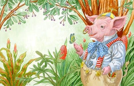 Piggywig  by  Ruth Sanderson