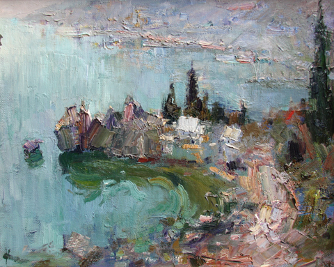 Spring in Crimea by  Slava Korolenkov - Masterpiece Online