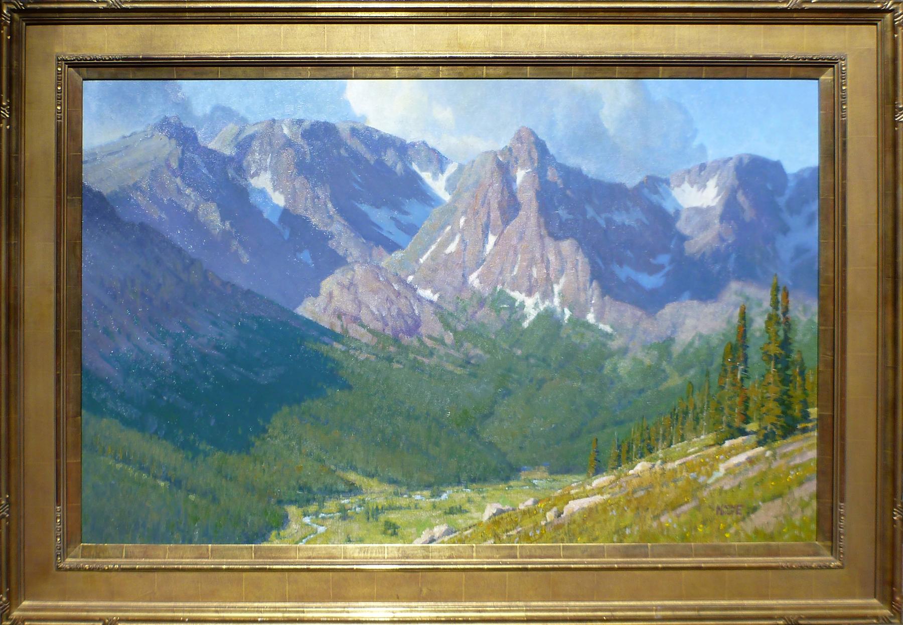 Hayden Gorge, RMNP by Mr. Wayne Wolfe - Masterpiece Online