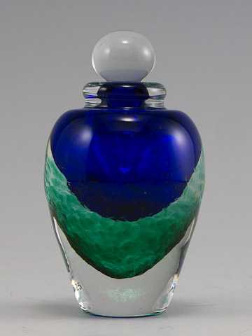 Perfume/Blue Green Ro... by  Laurie Thal - Masterpiece Online