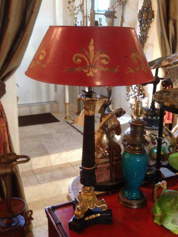 Lamp by  French  - Masterpiece Online