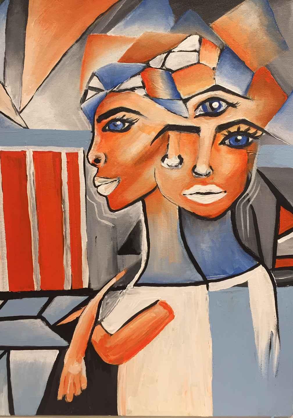 Blue Eyed Woman by  Boston Logan - Masterpiece Online