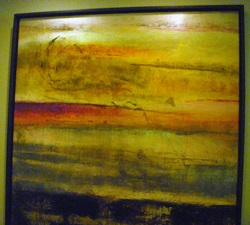 Abstract - Red and Go... by   Santiago - Masterpiece Online