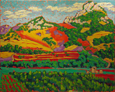 Hollister Peak from L... by  Char  Michelson  - Masterpiece Online