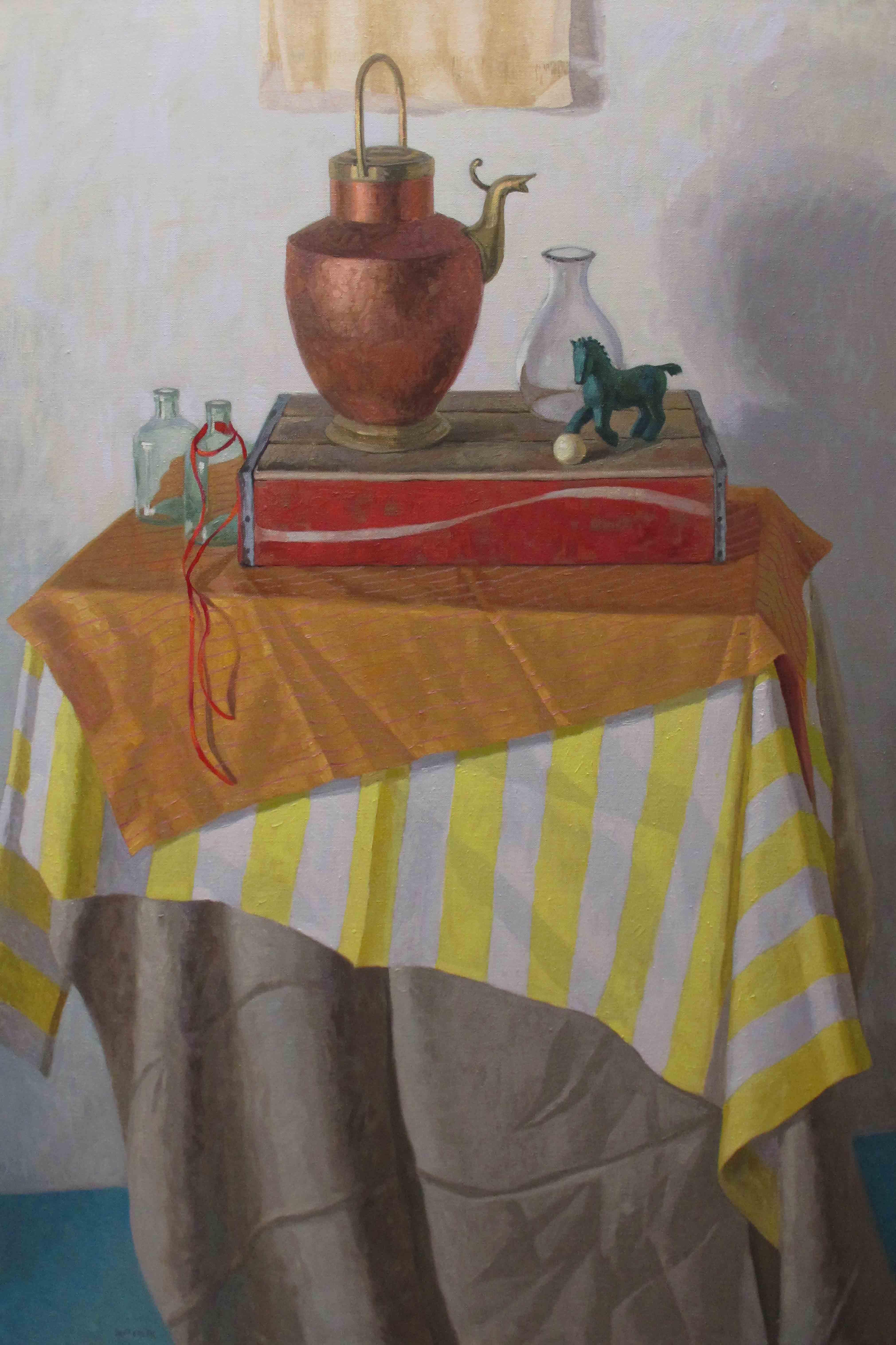 A Ribbon Runs Through... by  Melissa Hefferlin - Masterpiece Online