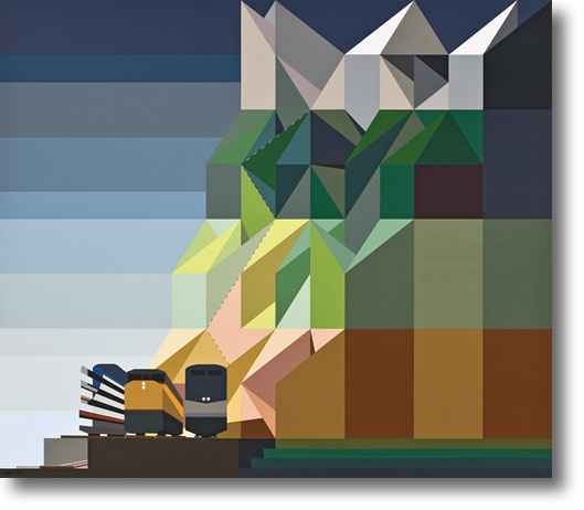 Sierra Nevada Railroa... by Mr. Malcolm Montague Davis - Masterpiece Online