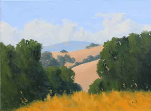 Distant Hills  by  Donald  Craghead