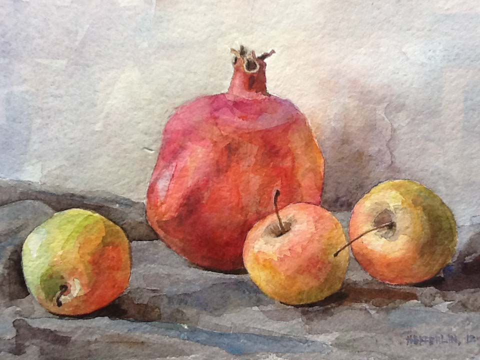 Kazakh Fruit by  Melissa Hefferlin - Masterpiece Online