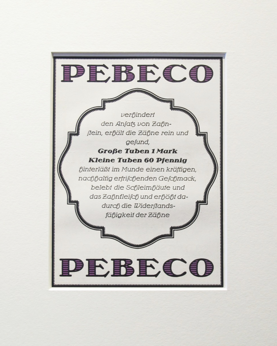 Pebeco Pebeco (matted) by    - Masterpiece Online