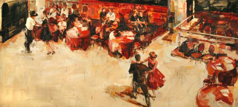 Reserved Seats at a B... by  Willow Bader - Masterpiece Online