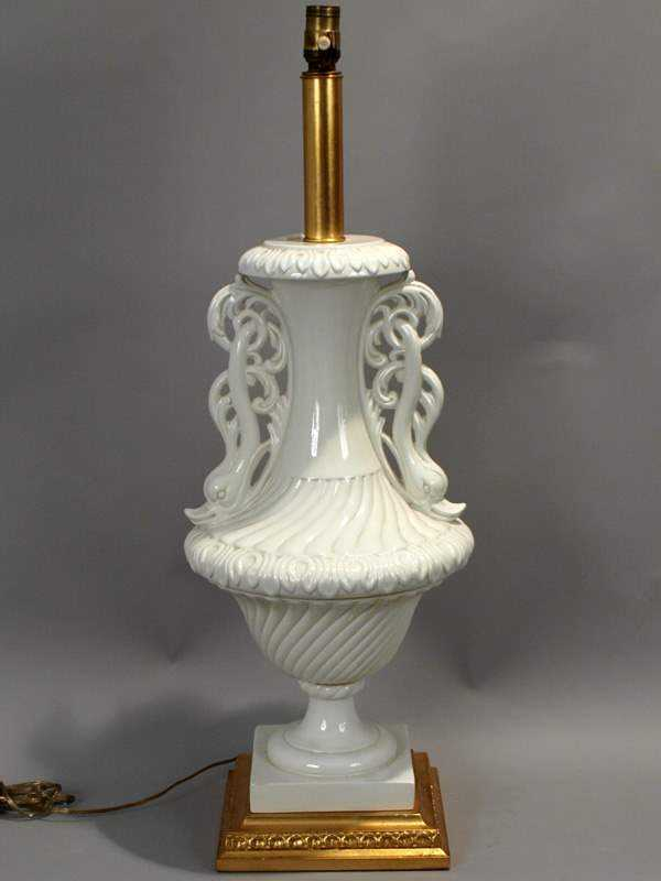 Large Urn Lamp by  Italian  - Masterpiece Online