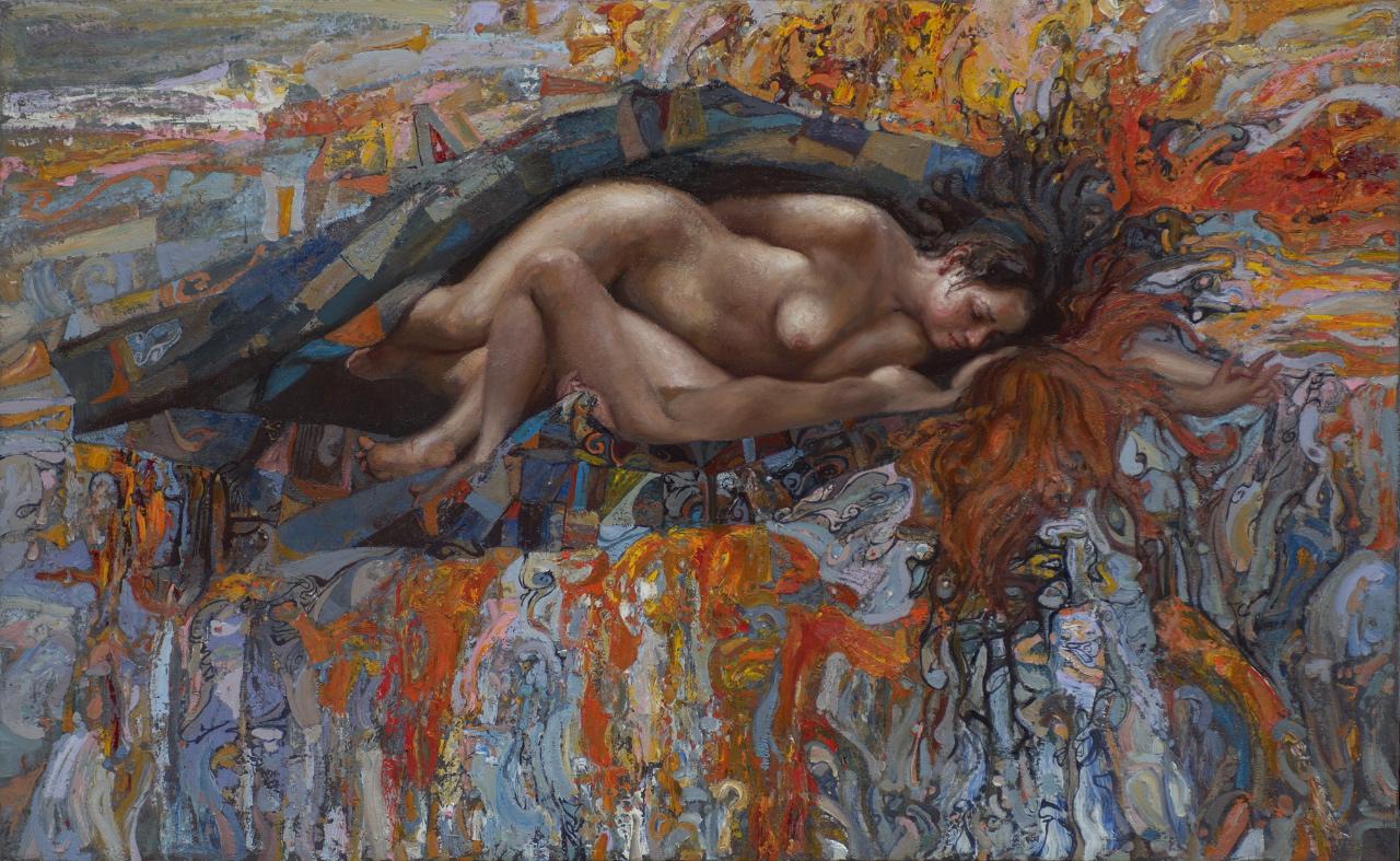 Lovers by  Daud Akhriev - Masterpiece Online