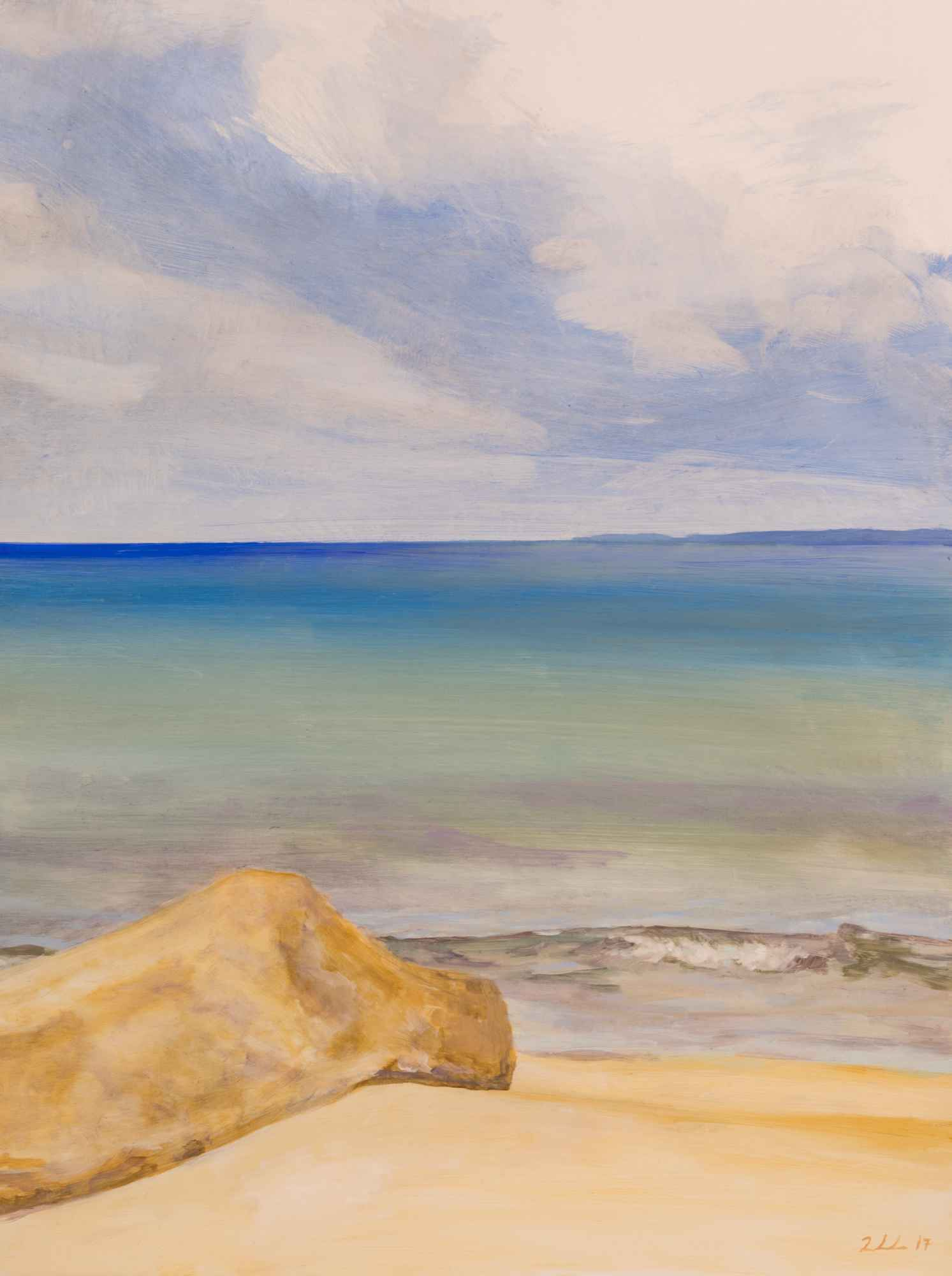 Private Beach 2 by  Cynthia Woehrle - Masterpiece Online
