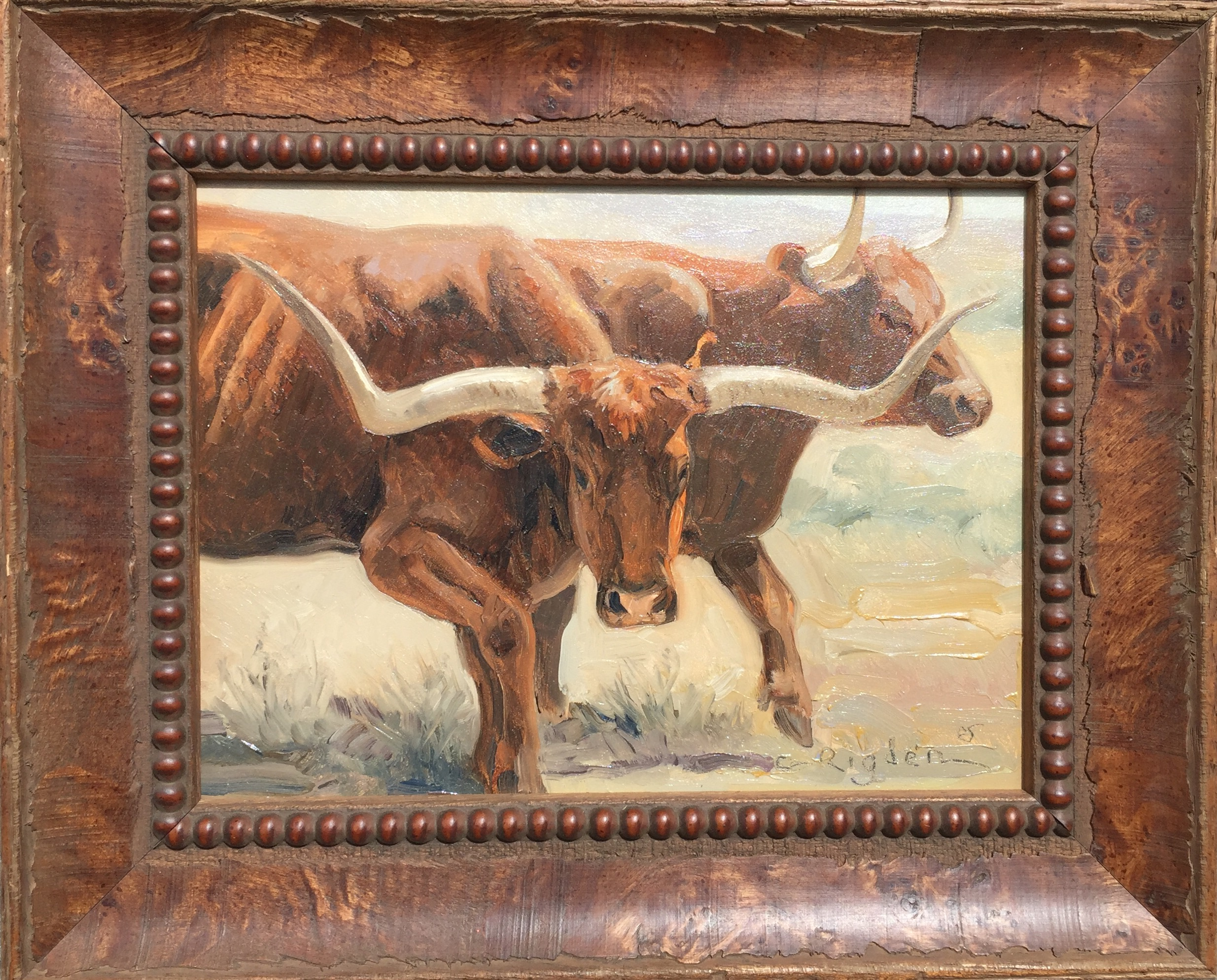 Texas Red by Ms. Cynthia Rigden - Masterpiece Online