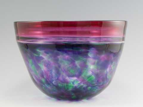 Bowl/Watercolor by  David & Melanie Leppla - Masterpiece Online