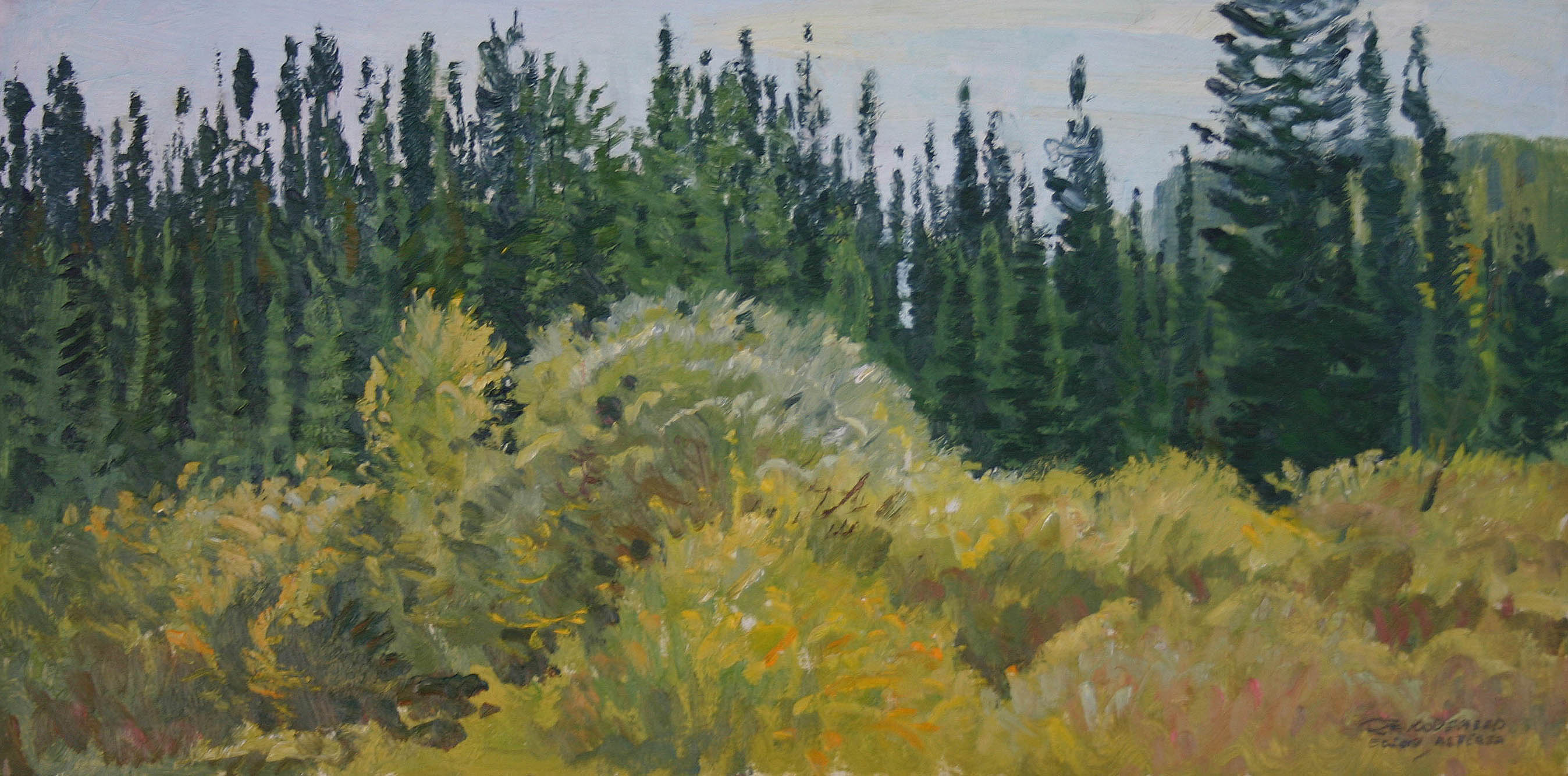 Fall Color by  Robert Lougheed - Masterpiece Online