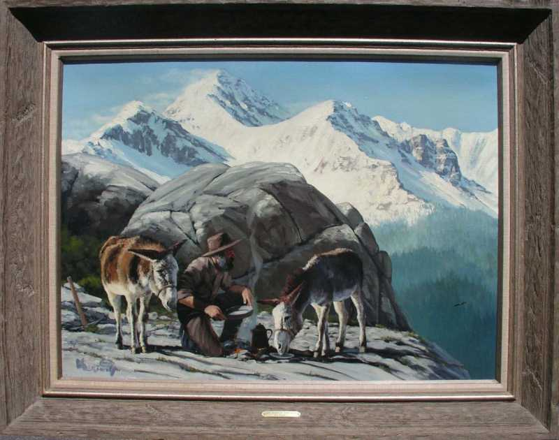 Search for Gold by  Roy Kerswill 1925-2002 - Masterpiece Online