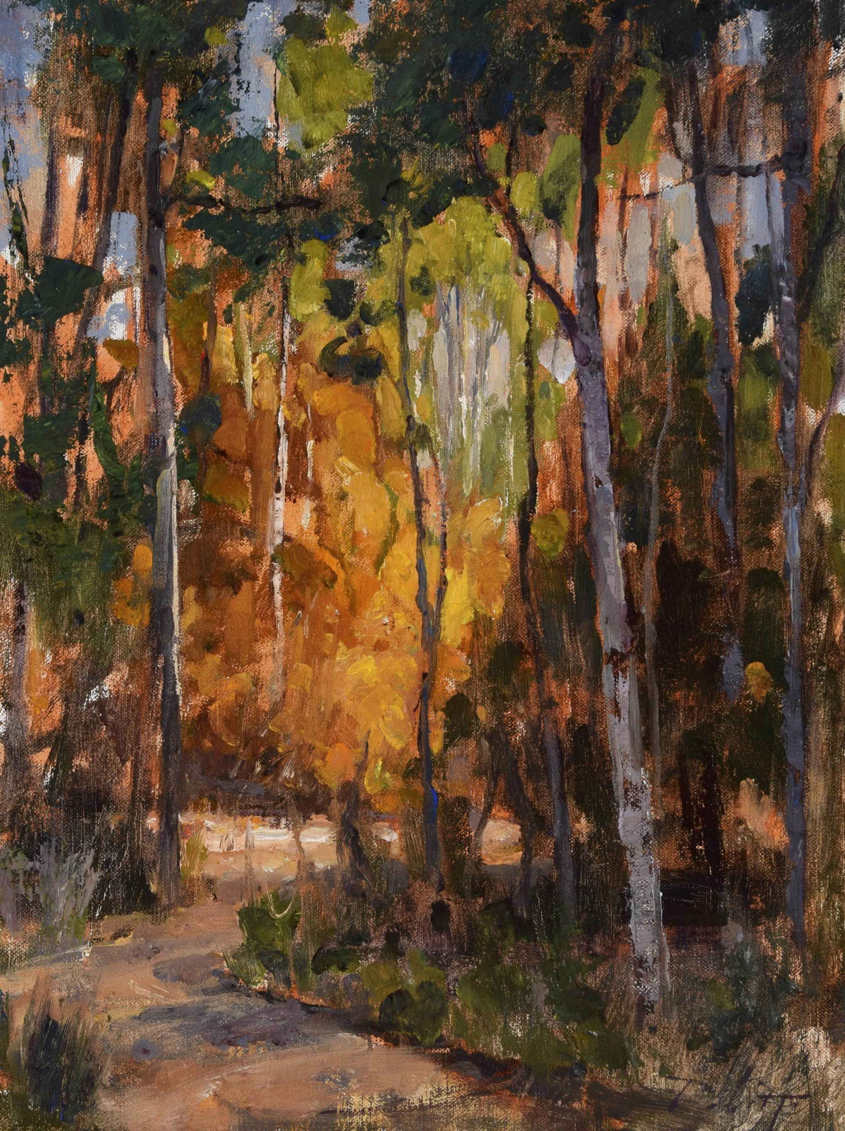 Out of the Woods by  Kyle Paliotto - Masterpiece Online